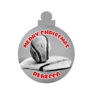 Hurling Acrylic Christmas Ornament Decoration